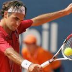 Roger Federer avanza con pie firme, pero Melzer es un duro obstáculo
