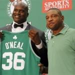 O`Neal se va a estrenar en los Celtics, enfrentando a los Heats