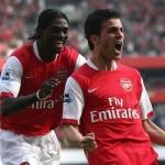 Césc vuelve, hoy, al equipo del Arsenal