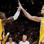 Los Lakers de gira por Europa