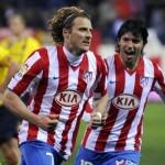 La dupla de delanteros del Atleti serán Agüero y Forlán