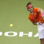 Rafael Nadal debuta con éxito en Doha