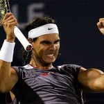 Nadal pasó a segunda ronda, sin trabajar mucho