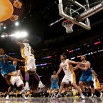 Angeles Lakers vs Hornetts