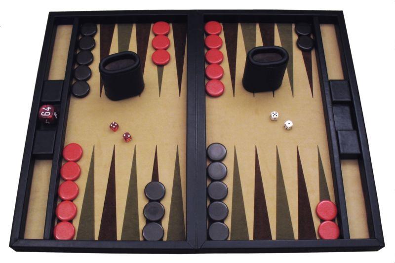El juego de mesa mas antiguo: Backgammon