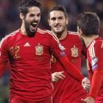 Isco con la selección de España