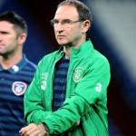 Martin O'Neill con Irlanda
